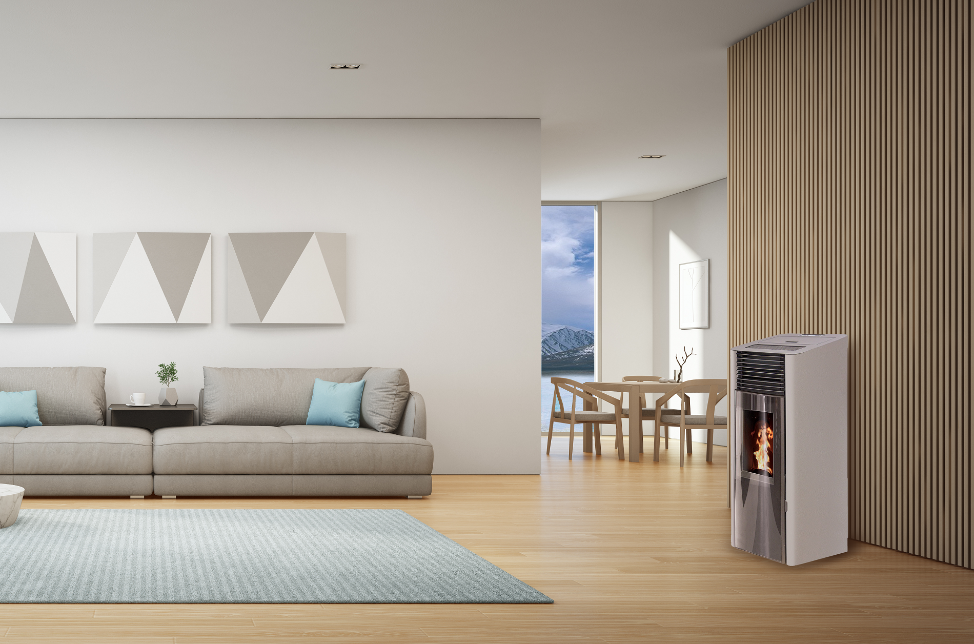 Air Pellet stoves
